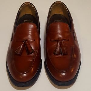 Mens Stuart McGuire Leather Loafers (size 8) NICE!